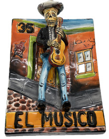 El Musico Wall Plaque