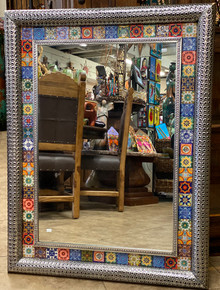 Brazalete 44'' Tin Mirror w/ Tile