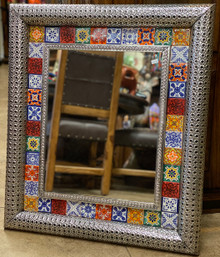 Brazalete 30'' Tin Mirror w/ Tile