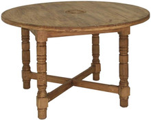 Round 48'' Dining Table w/ Star