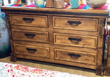 Andrade Carved Dresser ** SALE 25% OFF, 1 LEFT AT THIS PRICE