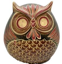 Owl Planter - Red