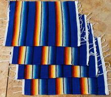 Blue Sarape Placemat - Set of 4