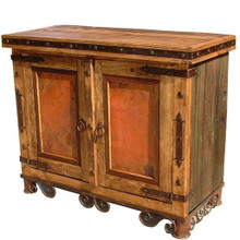 Arcon Copper Door Cabinet Iron Base