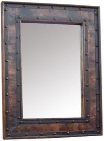 Hacienda 60'' Mirror w/ Copper