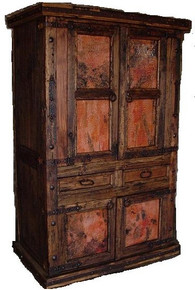 Jalisco Armoire w/ Copper