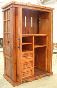 Pocket Doors Armoire
