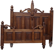 Andaluz Mesquite Queen Bed