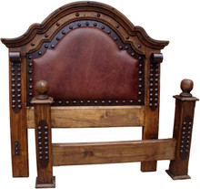 Emperador Queen Bed
