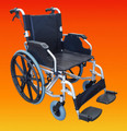PQUIP 20S LITE BARIATRIC STEEL WHEELCHAIR (50cm Seat)