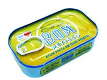 Atum Bom Petisco em oleo vegetal- 120gr.