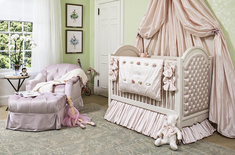Designer Rooms Nurseries for Girls Sleeping Beauty Nursery