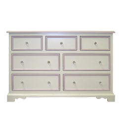 French Country Seven Drawers Dresser