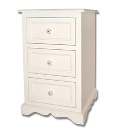 Isabella's 3 Drawer Night Table