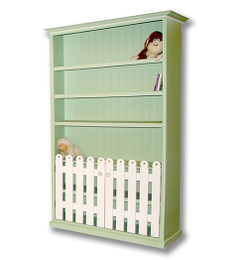 Picket Fence Bookcase