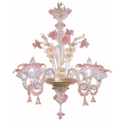 Venetian Large Chandelier - 5 arm