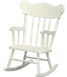 Child's Rocking Chair in Antico White