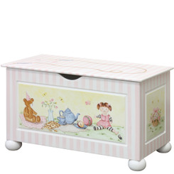 Toy Chest in Tea Party