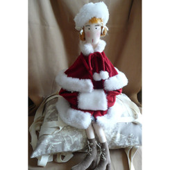 Doll: Clara - Christmas Red Coat