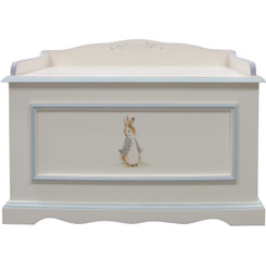 Vintage Toy Chest in Blue Classic Enchanted Forest
