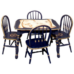 Vintage Table & Chair Set - Johnny