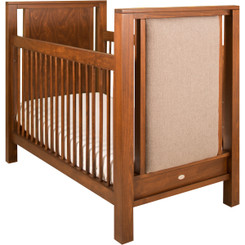 Ricki Crib w/Upholstered Panels