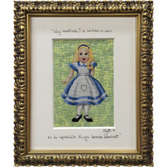 Needlepoint - Alice in Wonderland