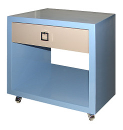 Jack Night Table in Blue