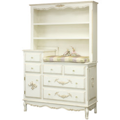 French Changer in Versailles Cream w/Hutch