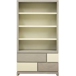 De Stijl Bookcase w/Tempo Feet