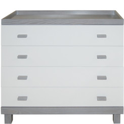 Wright Dresser/Changer - Dark Gray