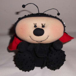 New Designs: Leah the Ladybug
