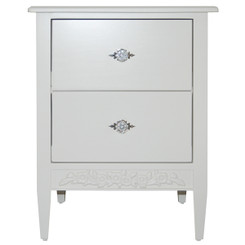 Swedish Nightstand - 2 Drawers
