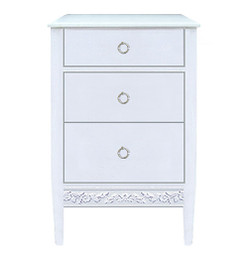 Swedish Nightstand - 3 Drawers