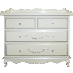 Belle Paris - 4 Drawer Dresser - FLOOR SAMPLE!