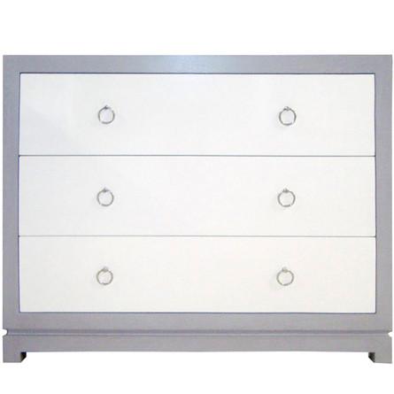 Tempo 3 Drawer Dresser. High-end quality, eco-friendly materials.