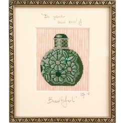 Needlepoint - Jade Perfume Bottle