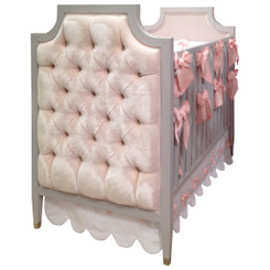 Gramercy Crib Tufted w/ Diamonds - FLOOR SAMPLE