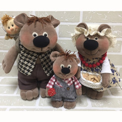 New Designs: Three Bears Family