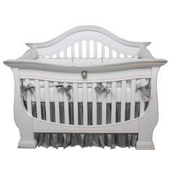 London Crib in Silver Gilding