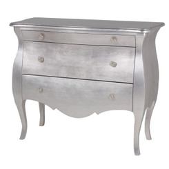 Capri Chest in Silver Gilding