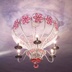 FLOOR SAMPLE Dorothy's Balloon Chandelier