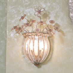 FLOOR SAMPLE Sleeping Beauty Sconce