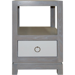 FLOOR SAMPLE Tempo Nightstand - Open, 1 Drawer