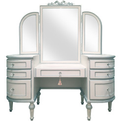 FLOOR SAMPLE Princess Vanity w/Round Edges