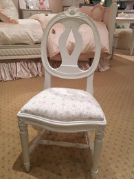 FLOOR SAMPLE Petite Chair in White