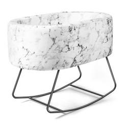 Carrara Marble Bassinet