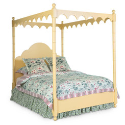 Strawberry Hill Canopy Bed