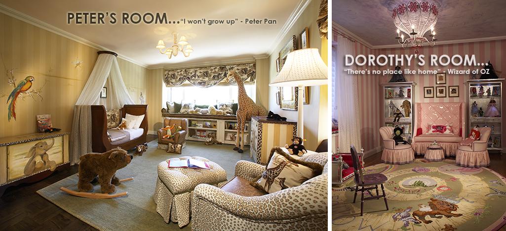 Rooms by Zoya B. - Sleeping Beauty Nursery Theme