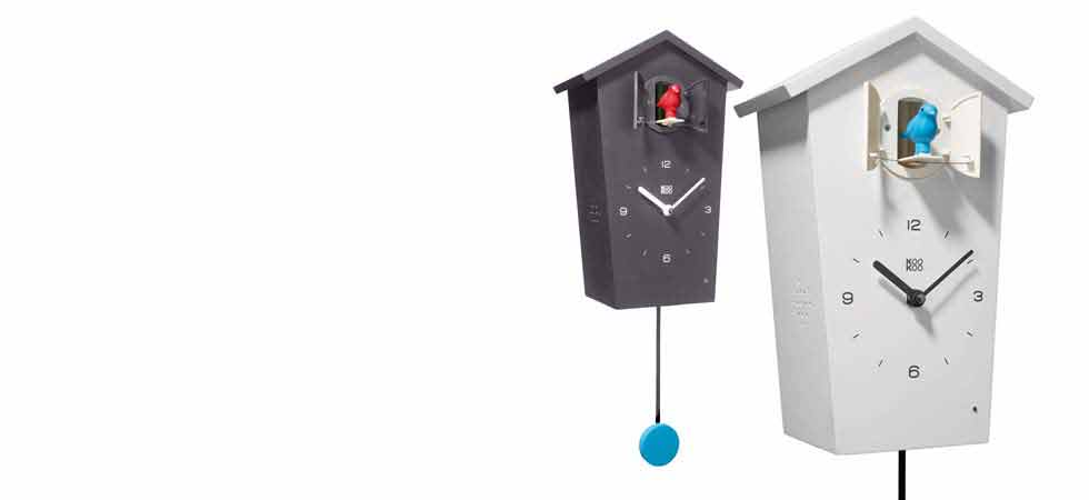 Design Gift Modern Cuckoo Clock BirdHouse